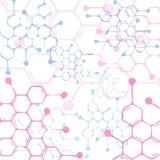 Molecular background Stock Images