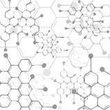 Molecular background Royalty Free Stock Image