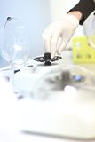 Molecular biology lab equipment Stock Photography