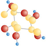 Molecular compound Royalty Free Stock Photos