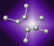 Molecular concept. Stock Photography