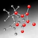 Molecular concept. Stock Photos