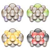 molecular concept Stock Photos