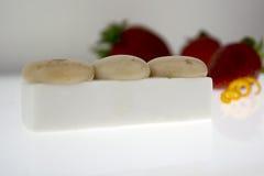Molecular cuisine. stock photography