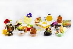 Molecular cuisine stock photography