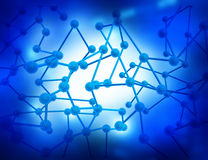 Molecular Royalty Free Stock Images