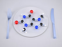 Molecular food concepts Royalty Free Stock Image