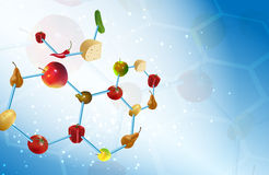 Molecular gastronomy Stock Images