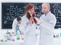 Molecular laboratory analysis Stock Photos