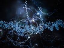 Molecular Life Royalty Free Stock Image