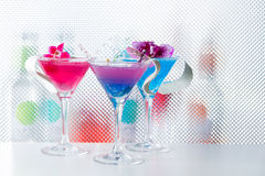 Molecular mixology - Cocktail with caviar Royalty Free Stock Photo