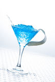 Molecular mixology - Cocktail with caviar Stock Photo