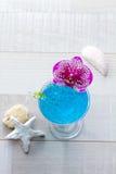 Molecular mixology - Cocktail with caviar Stock Images