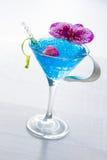 Molecular mixology - Cocktail with caviar Stock Photos