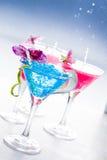 Molecular mixology - Cocktail with caviar Royalty Free Stock Photo
