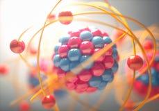Molecular Model Colorful Stock Photos