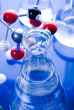 Molecular Model - Laboratory Stock Image
