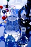 Molecular Model - Laboratory Stock Photography