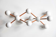Molecular model Royalty Free Stock Images