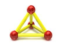 Molecular Structure royalty free illustration