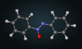 Molecular structure Royalty Free Stock Image