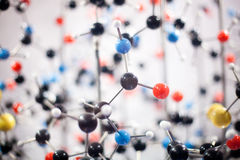 Molecular structure Royalty Free Stock Photos
