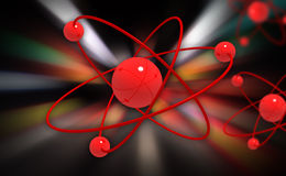 Molecular structure Stock Photography