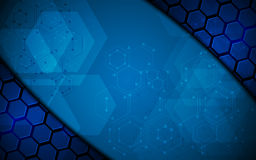 Molecular structure abstract backgroundscience concept abstract background Stock Photos