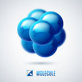 Molecular structure Royalty Free Stock Images