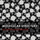 MOLECULAR STRUCTURE, SCIENTIFIC BACKGROUND, MEDICAL PATTERN, DNA stock illustration