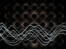 Molecular Wave Royalty Free Stock Photos