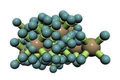 Molecule stock illustration
