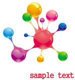 Molecule Royalty Free Stock Photography