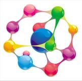 Molecule Royalty Free Stock Photos