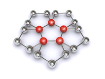 Molecule 3d Stock Photography
