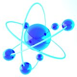 molecule Royalty-vrije Stock Foto's