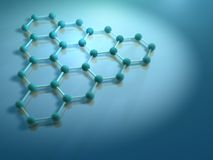 Molecule 6 Stock Photo