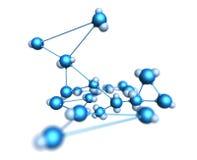 Molecule Stock Foto