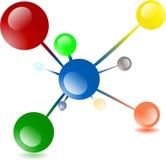 Molecule Abstract Stock Photo