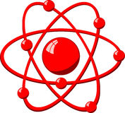 Molecule atom Stock Image