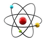 Molecule/Atom model Royalty Free Stock Images