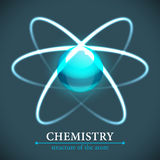 Molecule background. Royalty Free Stock Photos