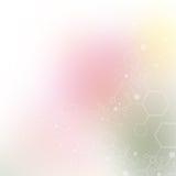 Molecule background Royalty Free Stock Photos