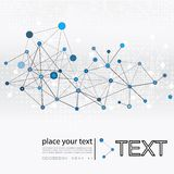 Molecule And Communication Background Stock Photo
