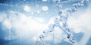 Molecule of DNA Royalty Free Stock Photo
