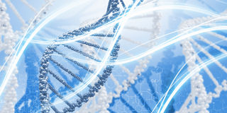 Molecule of DNA. Background high tech image of dna molecule royalty free stock photo