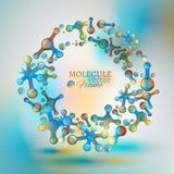 02 Molecule Frame Royalty Free Stock Photos