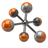 Molecule icon Royalty Free Stock Photo