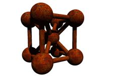 Molecule Illustration Stock Photos