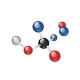 Molecule Royalty Free Stock Photo